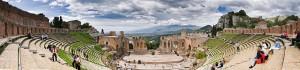 Antika grekiska teatern Taormina