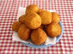 Arancini siciliani. Mat på Sicilien.