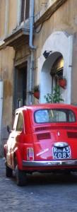 Fiat 500. Ett klassiskt transportmedel på Sicilien.