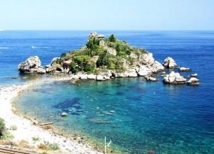 Isola Bella. Vid Taormina.